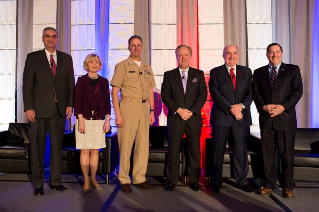 Eric Holcomb, Becky Skillman, Jeffrey Elder, Gerry Dick, Michael A. McRobbie, Joe Donnelly