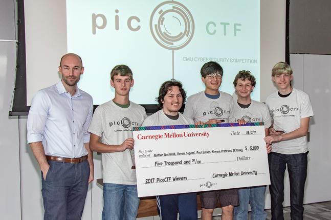 2017 picoCTF prize winners